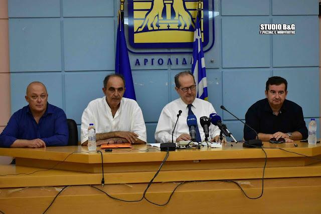 """Ιωάννης Μαντζούνης: """"Ξεκίνησαν οι εργασίες στο γήπεδο του Τολού - Κάνουμε πράξη το αυτονόητο"""""""