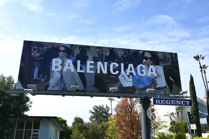 Balenciaga SS 2018 billboard