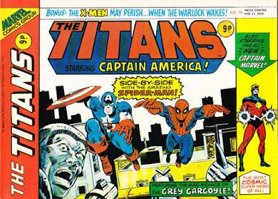 Marvel UK, the Titans #18, Morbius