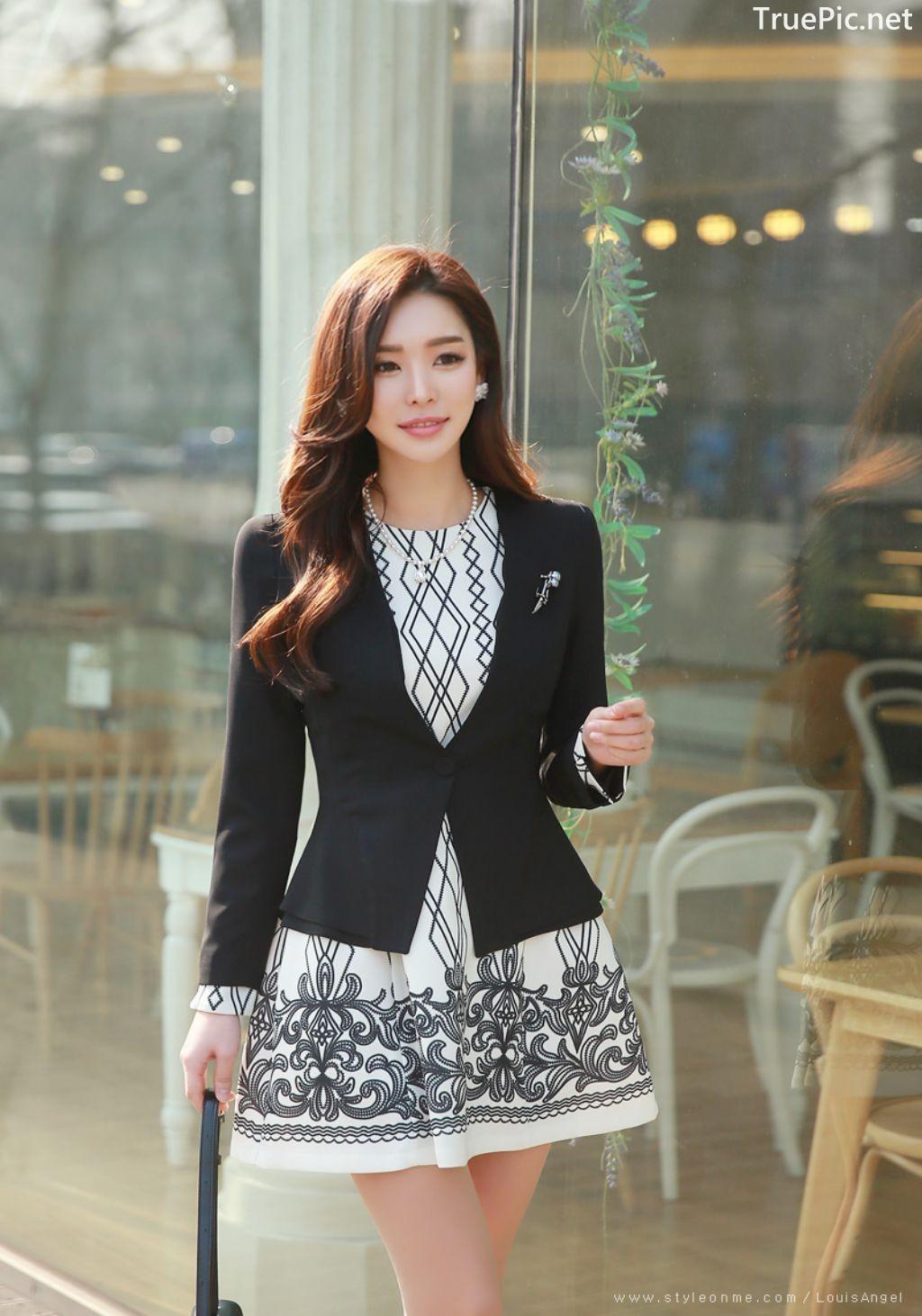 Image-Korean-Fashion-Model-Park-Da-Hyun-Office-Dress-Collection-TruePic.net- Picture-2