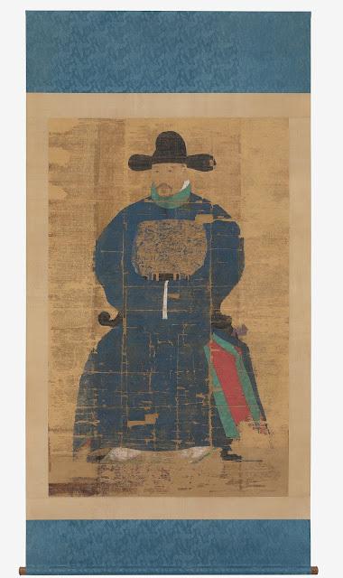 오자치 초상(吳自治 肖像), 보물 제1190호