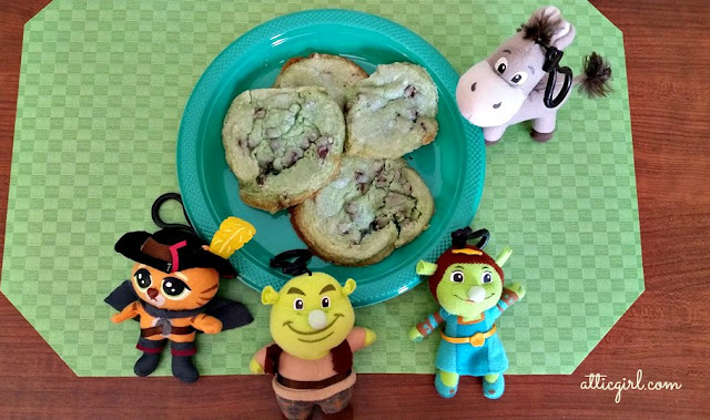 Shrek Ogre Cookies