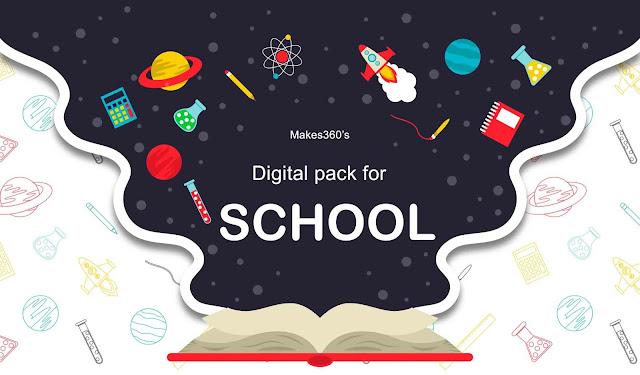 Digital pack for school
