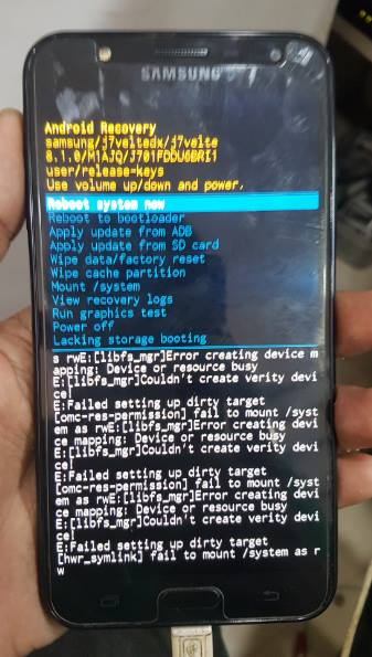 Fix Samsung j701f custom rom and root file download - Mobile Care