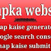Wapka website, sitemap kaise generate or google search console me submit kare.