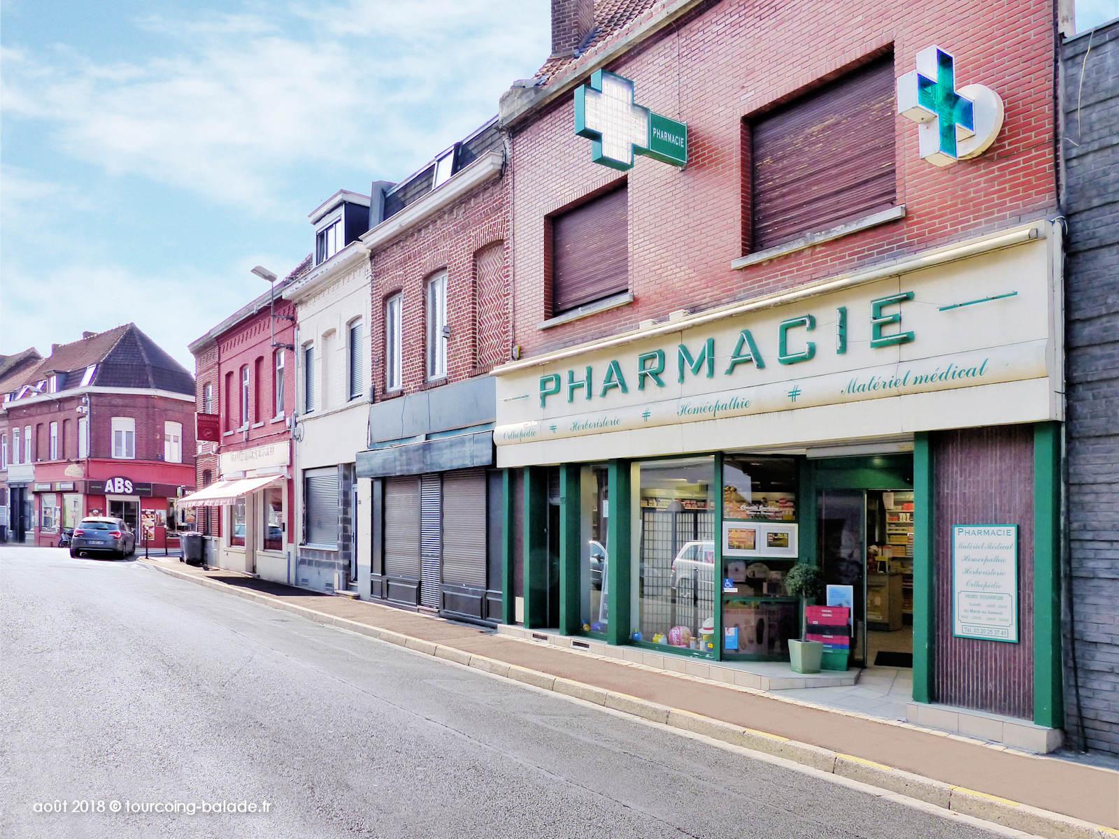 Rue Croix Rouge Tourcoing 2018 - Pharmacie Bouckehove