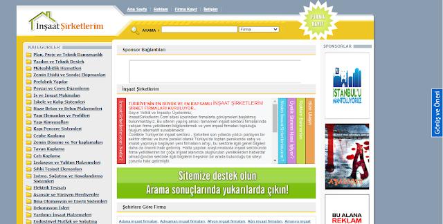 İnşaat Şirketleri Ücretsiz Php Script Full Yedek İnidir+Yandisk