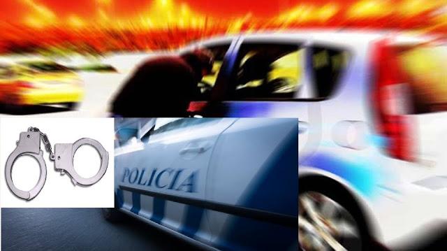 Jovem sem carta a conduzir carro furtado apanhado pela PSP em Cascais