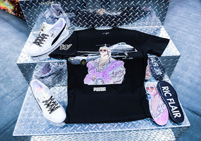 WWE x Puma x Foot Locker T-Shirt & Sneaker Capsule Collection