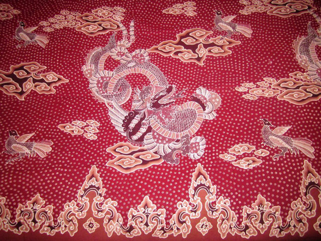 Motif Batik Liong