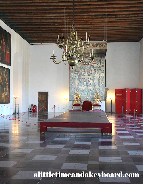 Spectacular ballroom at Kronborg Castle