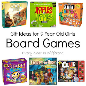 Gift ideas for 9 year old girls-Board Games