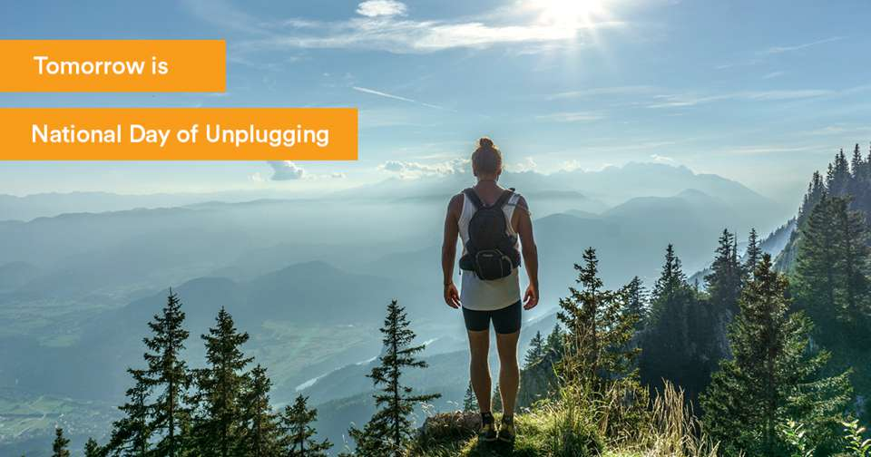 National Day of Unplugging Wishes Beautiful Image