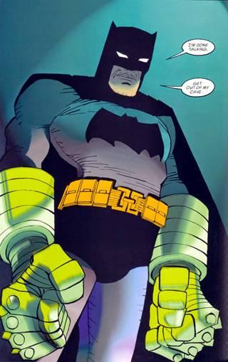 Batman se enfrenta a Superman con puños de Kryptonita en 'Dark Knight Strikes Again'