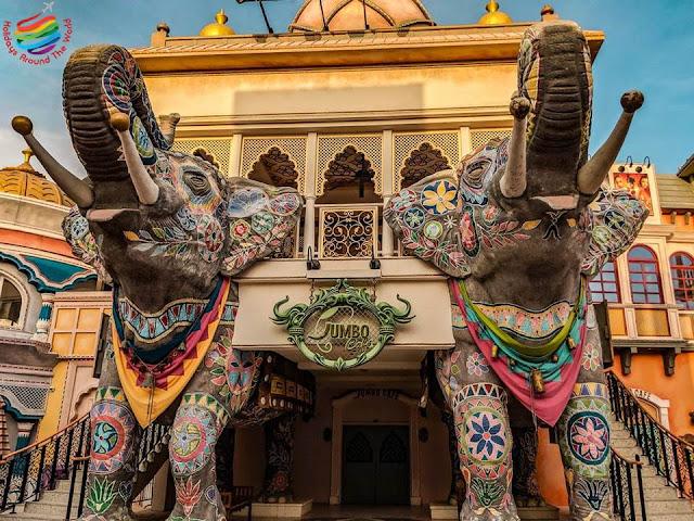 Dubai Parks Resorts- India Gate