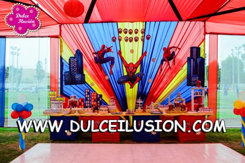 decoracion fiesta infantil de spiderman decoracion de fiestas infantiles
