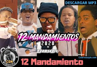 Quimico-Ultra-Mega-12-Mandamiento-Remix-El-Experimento-Atomic-La-Manta-El Fecho-y-Mas
