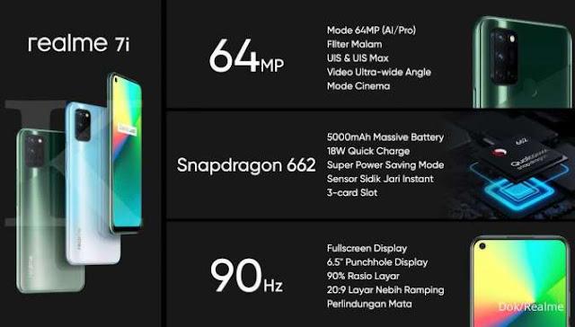 Spesifikasi dan Harga HP Realme 7i Terbaru