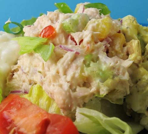 Creamy And Crunchy Tuna Salad Supreme