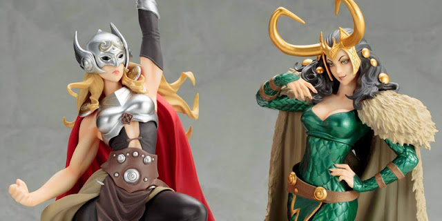 action figure thor vs loki