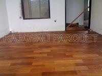 lantai kayu merbau ruang tengah