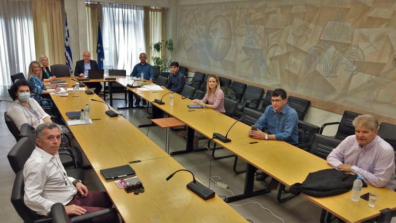 Σύσκεψη του Περιφερειάρχη ΑΜ-Θ Χρήστου Μέτιου με τους Διοικητές των Νοσοκομείων της Περιφέρειας