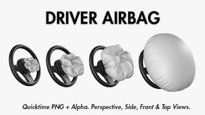 Air bag untuk pengemudi