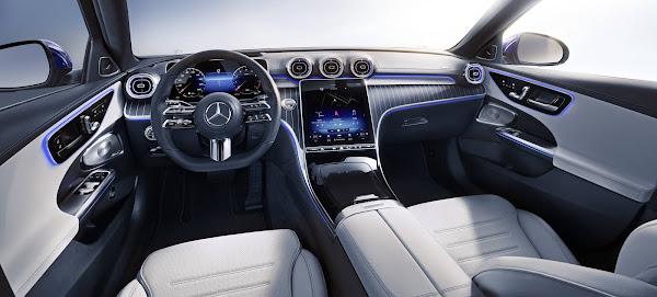 Mercedes-Benz Classe C 2022: preços na Europa partem de € 41.138,30