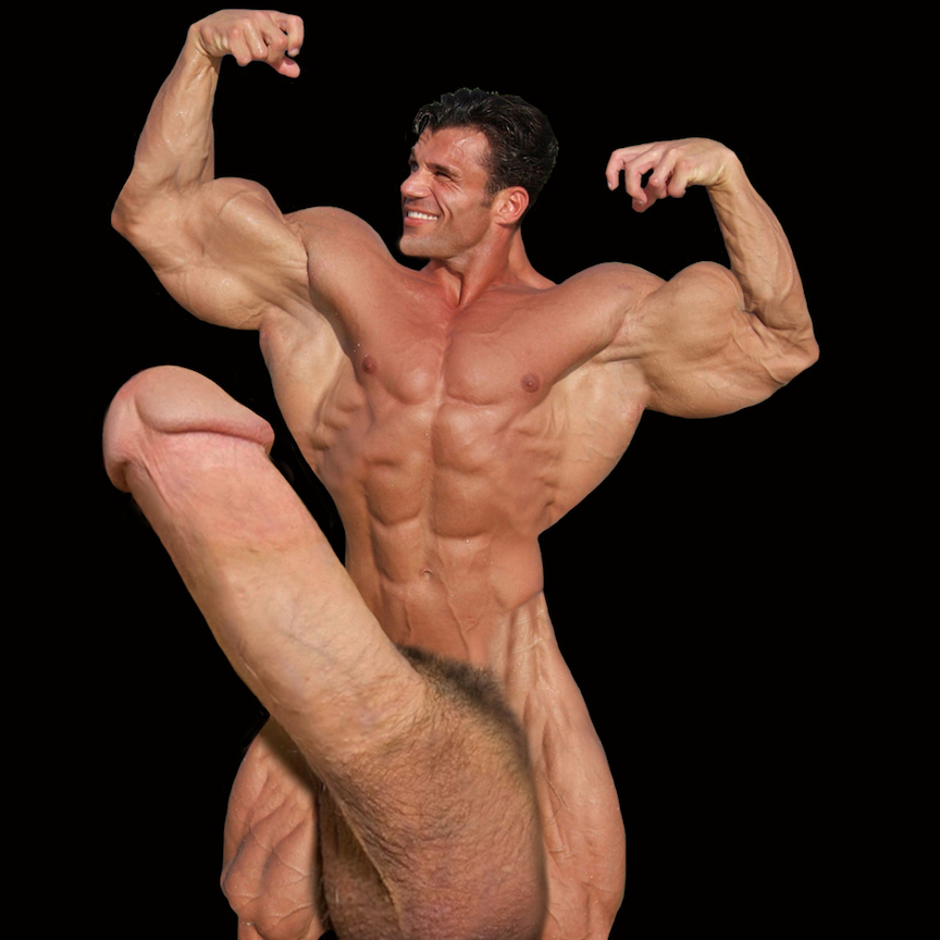 Gigantic Huge Meat Being A Bodybuilder, I Just Love -7430