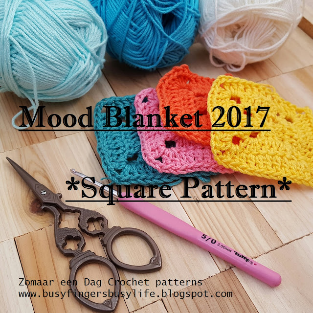 Busy Fingers Busy Life Happy New Year 2017 Mood Blanket