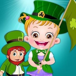 Baby Hazel St.Patricks Day