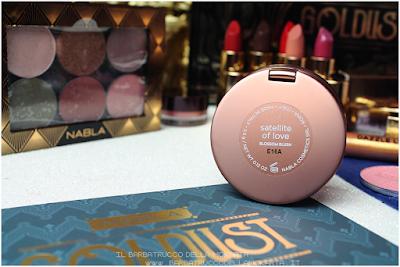 SATELLITE OF LOVE recensione Blush Blossom   goldust collection Nabla cosmetics