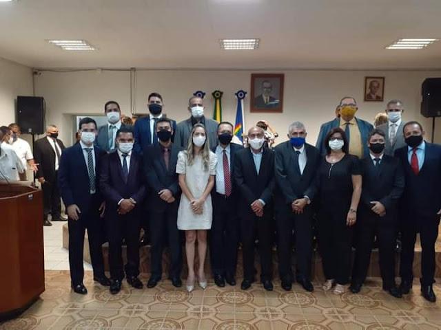Solenidade marcou instalação do Ano Legislativo da Câmara Municipal de Goiana