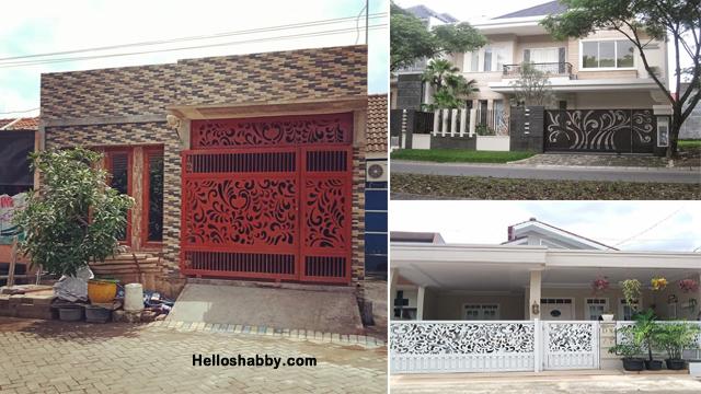 6 Gambar Inspirasi Model Pagar Rumah Mewah Dengan Laser Cutting Helloshabby Com Interior And Exterior Solutions