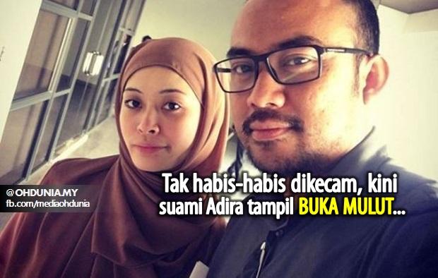 Tak Habis-Habis Dikecam!!.. Kini Suami Adira Tampil 'Buka Mulut'