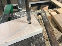 Drilling a 3/8 inch hole