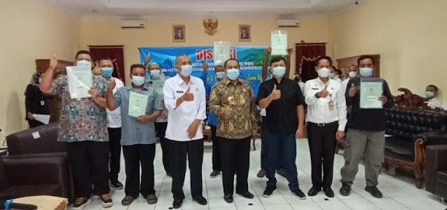 Bupati Dan Wakil Bupati Pangandaran Sambut Kunjungan Wakil Menteri ATR