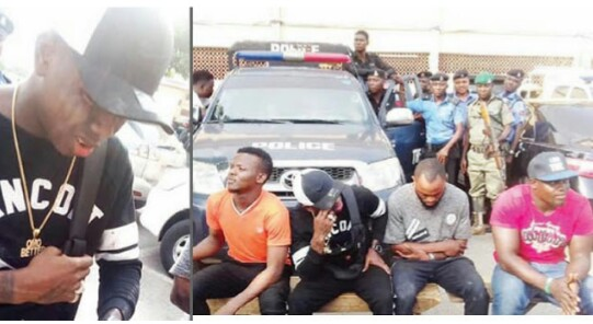 Lagos Police Arrested Popular Musician 'Small Doctor', 3 Others With Gun,Threatens To Shoot Police Officers