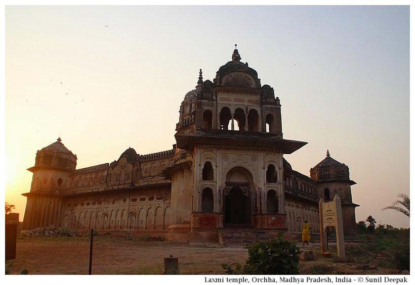 Laxmi temple, Orchha, Madhya Pradesh, India - Images by Sunil Deepak