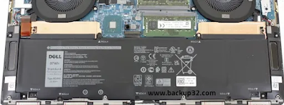 عمر البطارية Dell XPS 17 2021