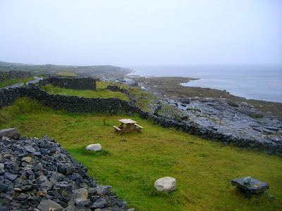 Aran Islands in Ireland
