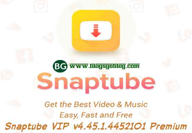 Cara Snaptube Pro Apk VIP v4.45.1.4452101 Premium YouTube Downloader HD Final Terbaru
