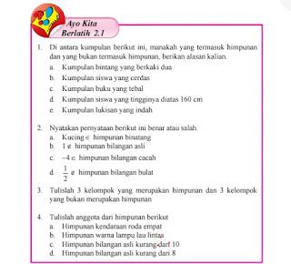 Soal dan Jawaban Ayo Berlatih Matematika Kelas 7 BAB 2 Lengkap