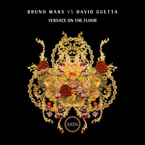 Bruno Mars & David Guetta - Versace On The Floor (Bruno Mars vs. David Guetta) - Single Cover