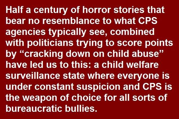 NCCPR Child Welfare Blog: The child welfare surveillance state: When