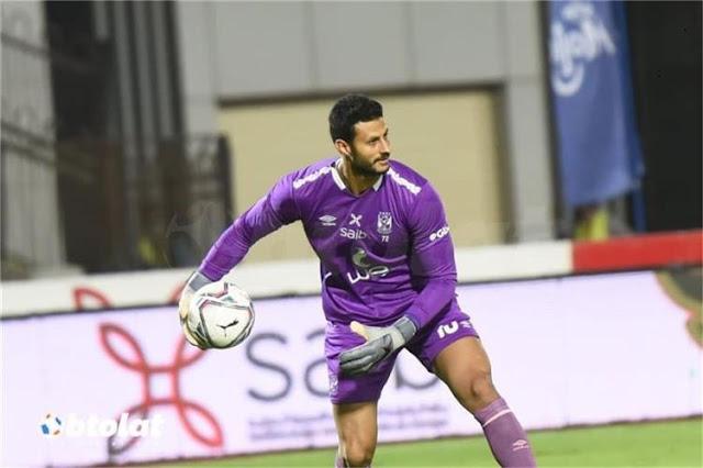 حارس مرمى نادي الأهلى محمد الشناوي: مروان محسن أفضل مهاجم في مصر