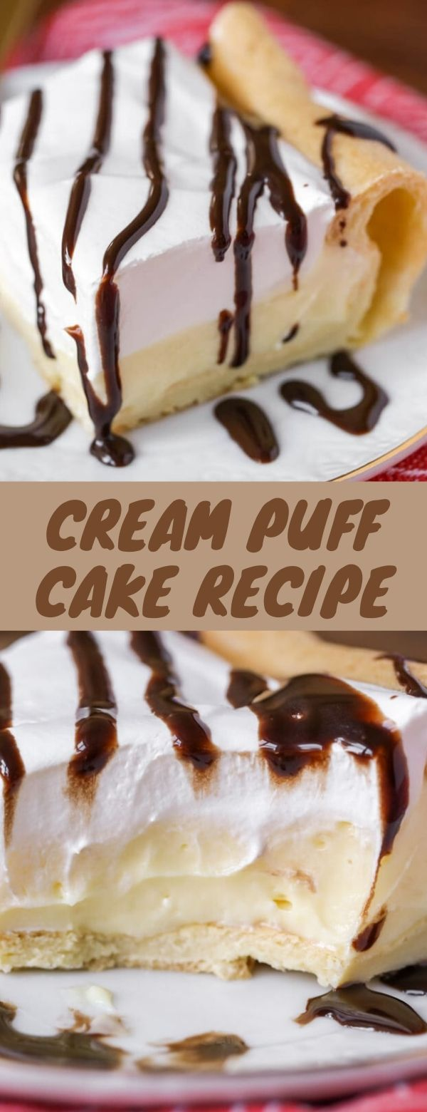 CREAM PUFF CAKE RECIPE