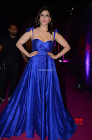 Mannara Chopra in Deep Neck Blue Gown at Zee Telugu Apsara Awards ~  Exclusive 032.jpg