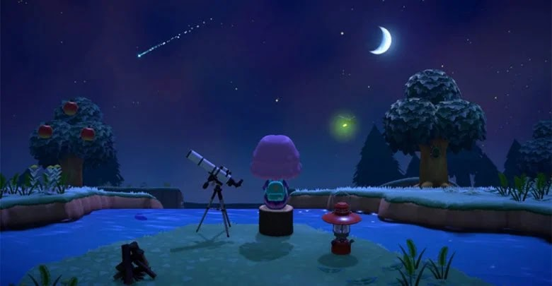 What do you have to do to get the wish stars in Animal Crossing: New Horizons