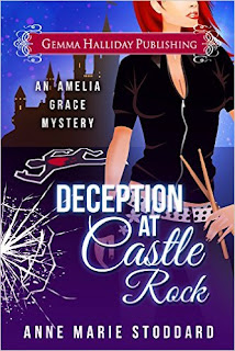 Deception at Castle Rock (Amelia Grace Rock 'n' Roll Mysteries Book 2) by Anne Marie Stoddard
